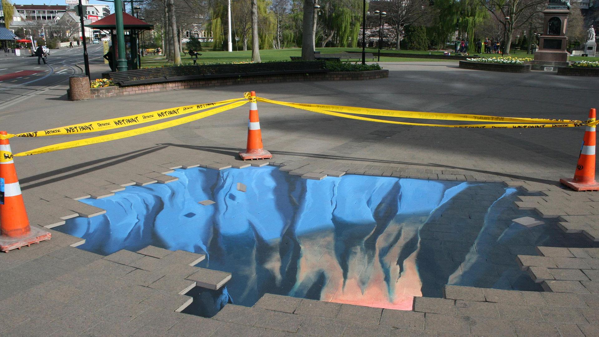 Ground-Breaking Illusions