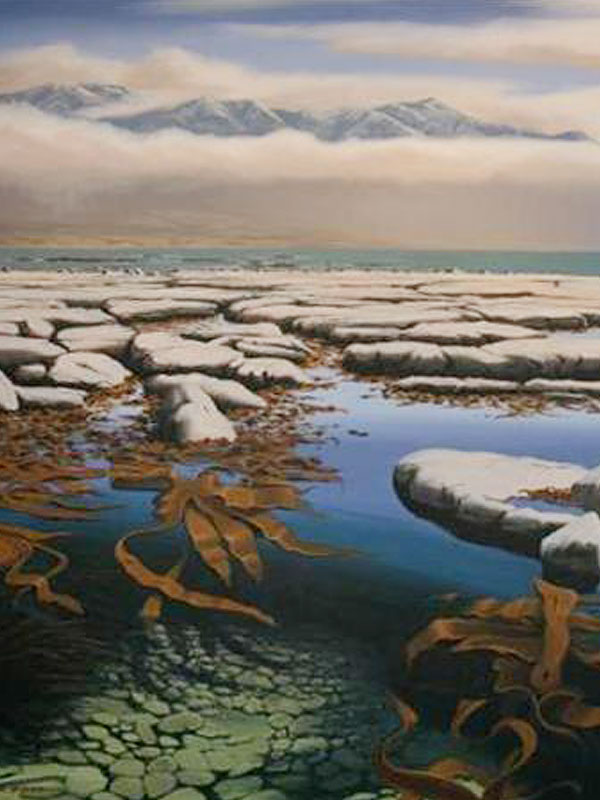 Works-on-canvas-Landscape-paintings-Kaikoura Landscape paintings